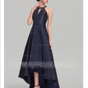 JJs House Navy Blue prom dress wedding size 12 NWT